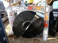 傾斜地への鋼管杭打設 公共工事での施工事例